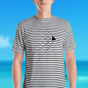 NEW Shark Ripples Men's T-Shirt