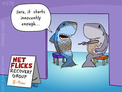 shark cartoon netflix