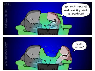 shark cartoon documentaries