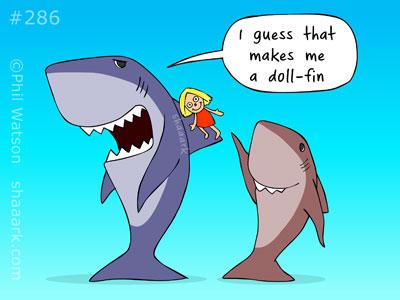 doll fin shaaark